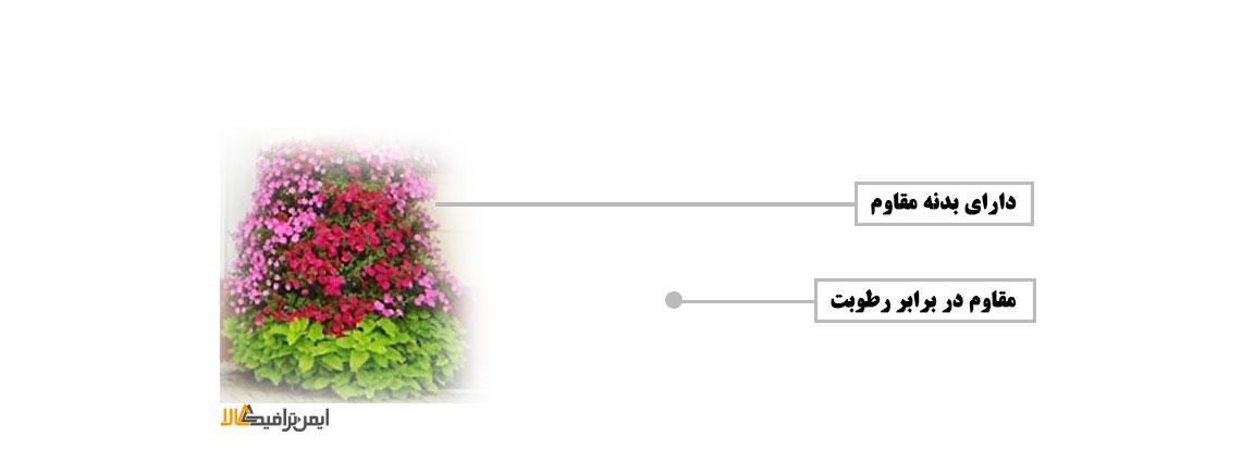 مبلمان و تجهیزات شهری ,  گلدان شهری فلاور باکس , گلدان فایبرگلاس