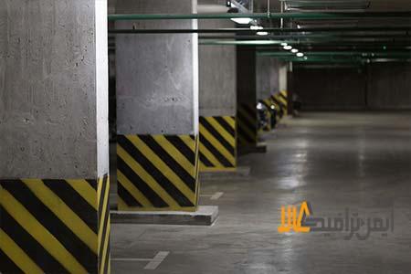 کاربرد محافظ ستون در پارکینگ